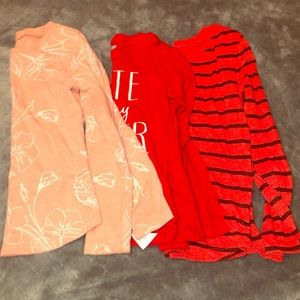 3 size 5t long sleeve Old Navy T-shirts
